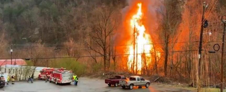 Fiery Train Derailment in Kentucky Spills Ethanol IntoRiver