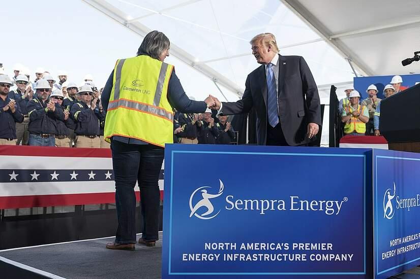 Environmental Groups Sue Trump Admin to Stop LNGTrains